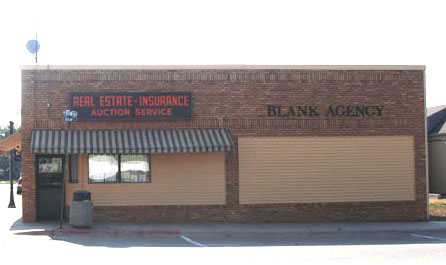 Blank Agency, Inc. building in Madison, NE